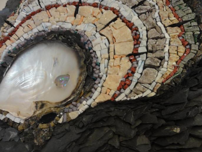 Nacre en expansion (détail) - Olga Choquel
