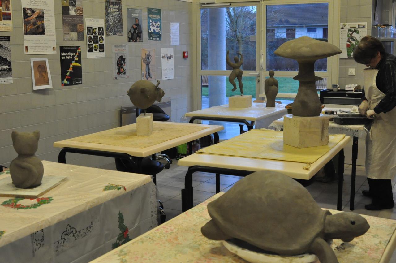 Sculptures finies