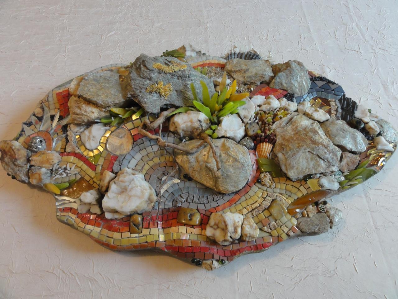 Roches tourmentées - Olga Choquel