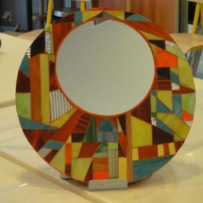 Miroir abstrait 03-2011