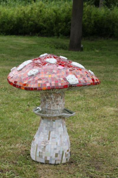 Sculpture Amanite - Francine Trouillet