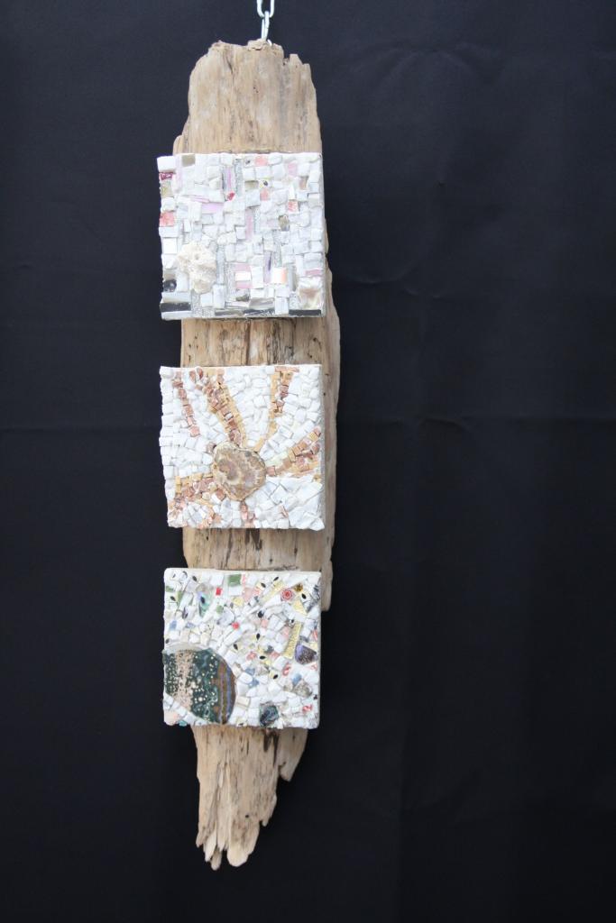 Composition 3 tableaux miniatures - Danièle pacotte
