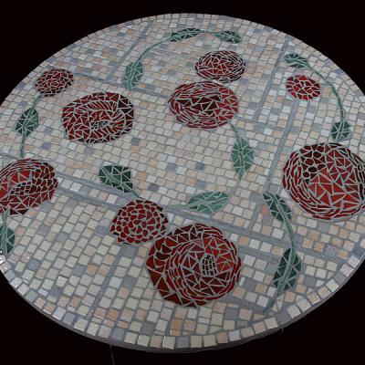 Table de jardin - Claire Bouchez