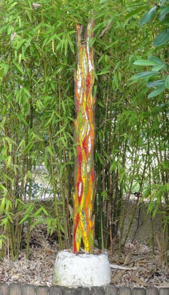 Totem de lianes - Olga Choquel